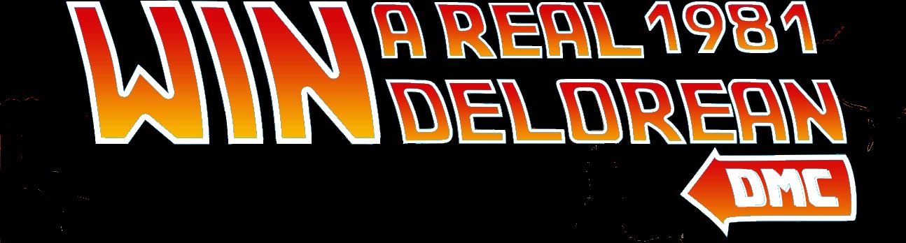 Win a 1981 DeLorean DMC