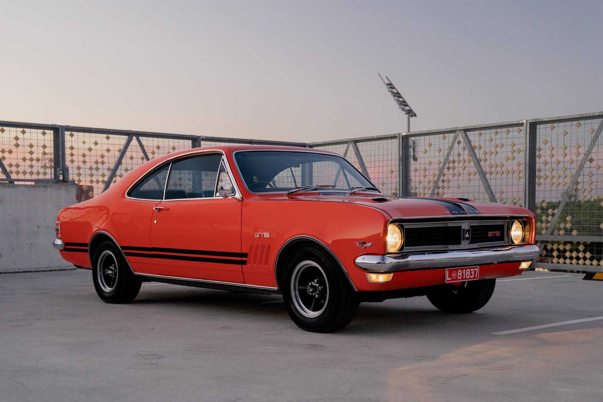Win a 1969 Holden HT Monaro