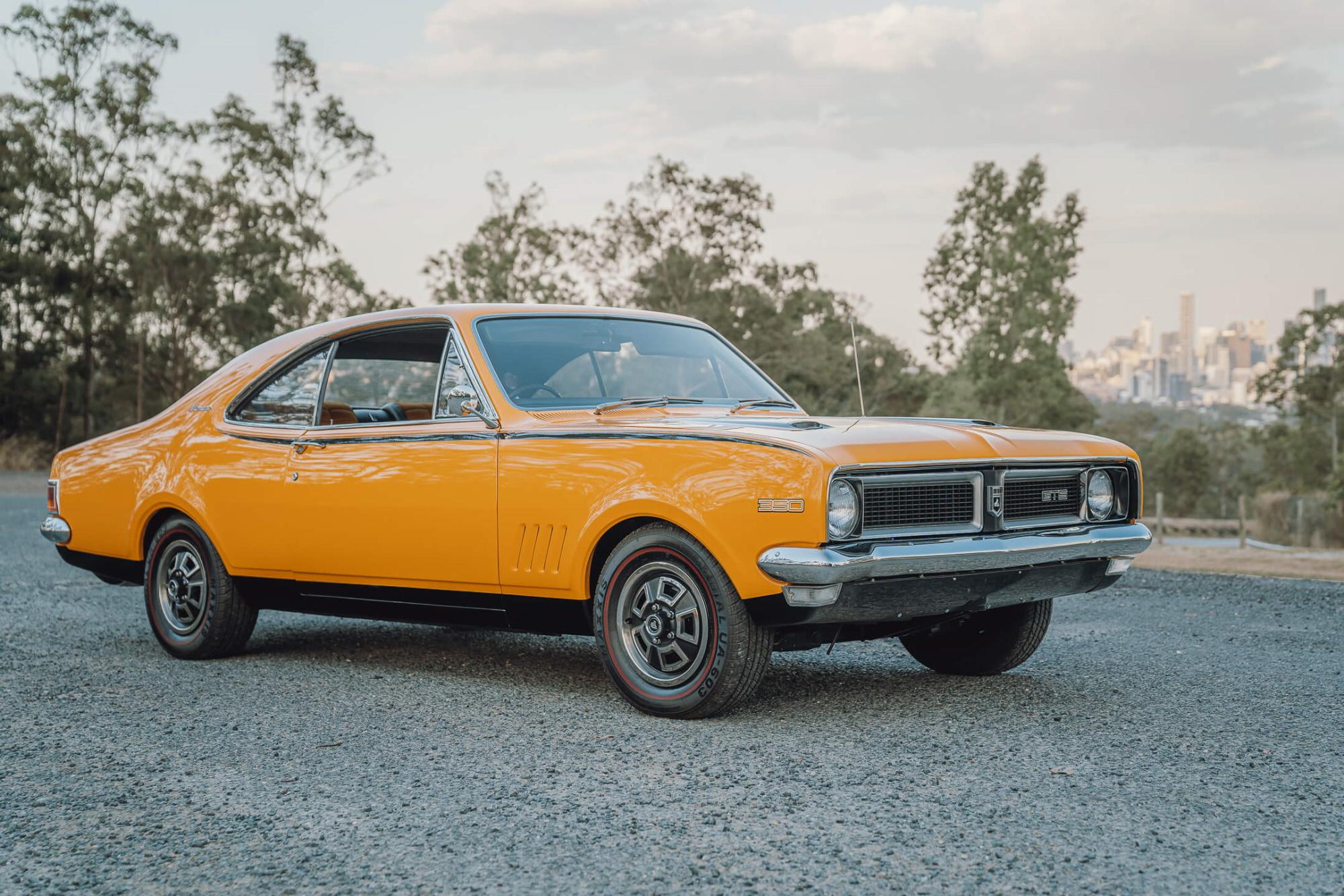 Win a 1970 Holden Monaro